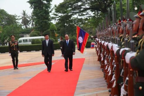 Tuyên bố chung Việt Nam - Lào - ảnh 1