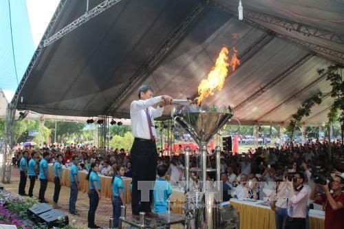 Hơn 5.000 công nhân lao động tham dự Tết Lao động năm 2017 ở Đồng Nai - ảnh 1