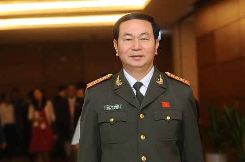 President Tran Dai Quang pays a working visit to Ninh Binh province - ảnh 1