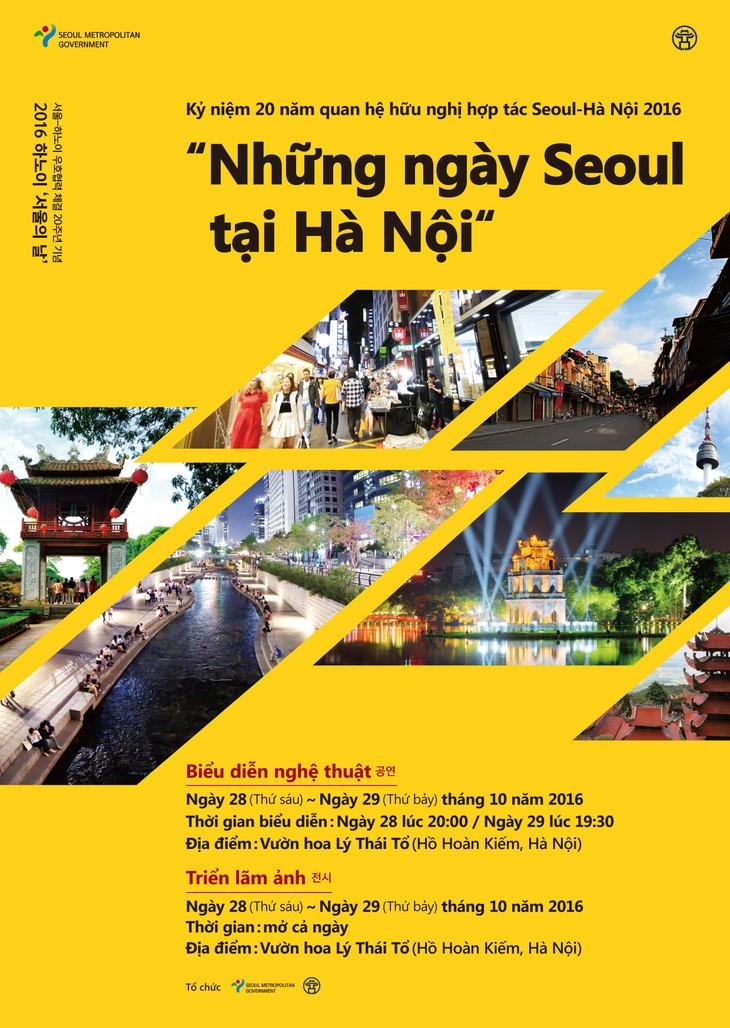 Seoul Days in Hanoi 2016 opens - ảnh 1