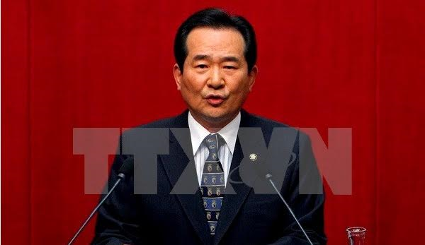 RoK National Assembly speaker visits Vietnam - ảnh 1
