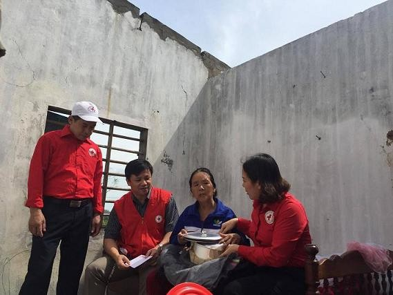 Emergency support offered to storm victims - ảnh 1