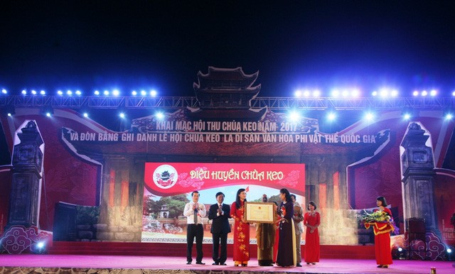Keo Pagoda festival recognized as national cultural heritage - ảnh 1