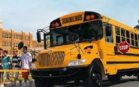 American yellow school bus  - ảnh 1