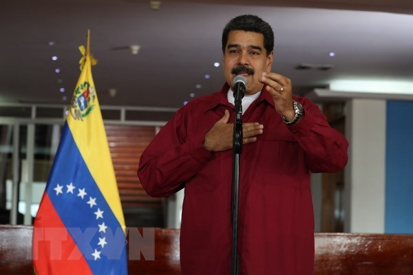 Nicolas Maduro re-elected Venezuela president - ảnh 1