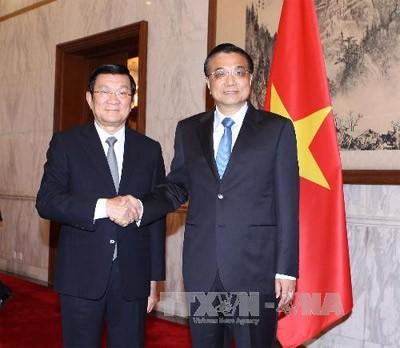 ประธานประเทศเวียดนามเจืองเติ๊นซางเสร็จสิ้นการเยือนจีน - ảnh 1