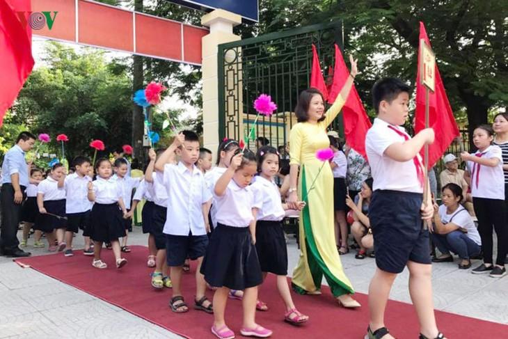 Ngày hội Toàn dân đưa trẻ đến trường - ảnh 1