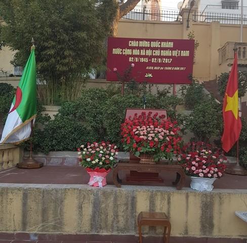 Kỷ niệm lần thứ 72 Cách mạng Tháng 8 và Quốc khánh 2/9 tại An-giê-ri - ảnh 2