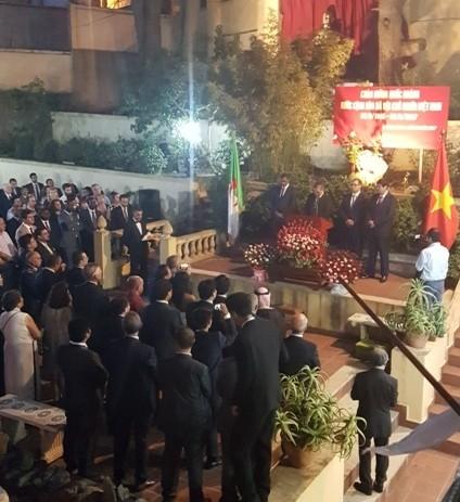 Kỷ niệm lần thứ 72 Cách mạng Tháng 8 và Quốc khánh 2/9 tại An-giê-ri - ảnh 1