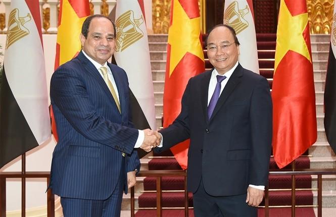 Ai Cập mong muốn tăng cường hợp tác với Việt Nam trên nhiều lĩnh vực - ảnh 1