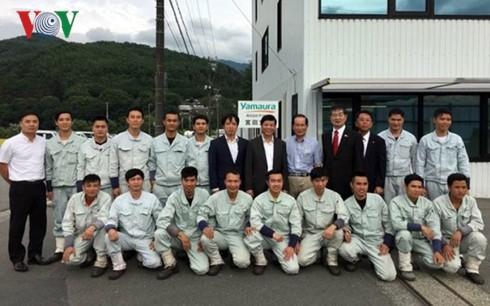 Đại sứ Việt Nam tại Nhật Bản hỗ trợ thực tập sinh điều trị bệnh - ảnh 4
