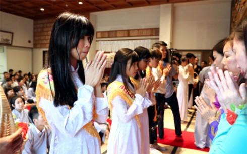 Phật tử Việt Nam tại Kitakyushu, Nhật Bản có nơi sinh hoạt tâm linh mới - ảnh 4