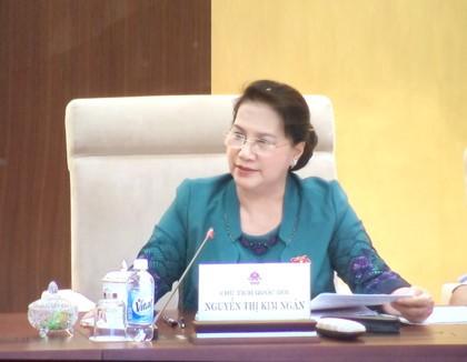 Ủy ban Thường vụ Quốc hội chuẩn bị cho kỳ họp thứ 4  - ảnh 1