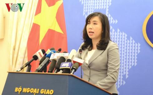 Việt Nam khẳng định lập trường về quyền tự do hàng hải và hàng không ở Biển Đông - ảnh 1