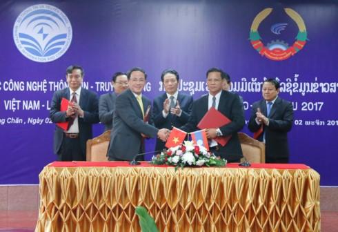 Hợp tác về thông tin và truyền thông Lào-Việt - ảnh 1