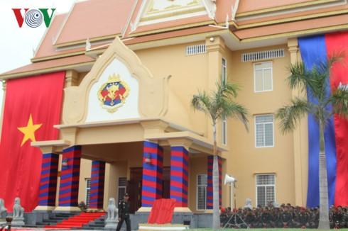 Quân đội Campuchia khánh thành công trình do Việt Nam tài trợ - ảnh 2