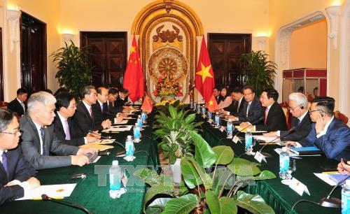 Việt Nam và Trung Quốc nhất trí tăng cường hợp tác trên nhiều lĩnh vực - ảnh 1