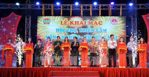 Hội chợ, triển lãm nông nghiệp - thương mại các tỉnh Trung du và miền núi phía Bắc - ảnh 1