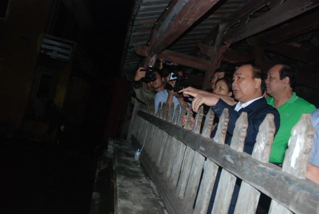 Thủ tướng Nguyễn Xuân Phúc chỉ đạo khắc phục hậu quả bão lũ tại  Quảng Nam     - ảnh 1