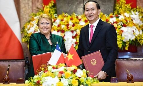 Tiếp tục tăng cường quan hệ hợp tác toàn diện giữa hai nước Việt Nam – Chile - ảnh 1