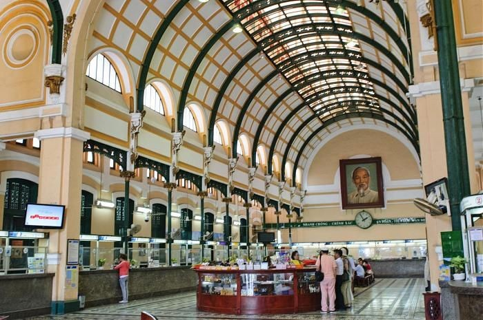 Bưu điện Trung tâm Sài gòn, công trình kiến trúc đặc biệt ở thành phố Hồ Chí Minh - ảnh 3