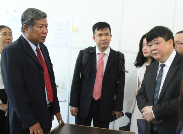 Lãnh đạo Campuchia tiếp đoàn công tác của Đài Tiếng nói Việt Nam - ảnh 2