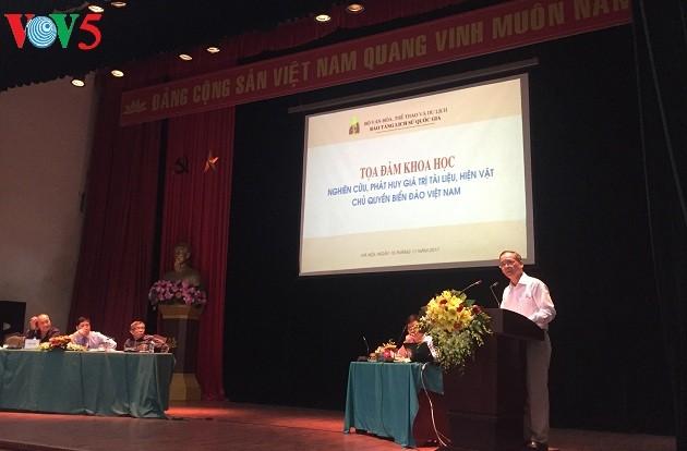 Nghiên cứu, phát huy giá trị tài liệu, hiện vật chủ quyền biển đảo Việt Nam - ảnh 1