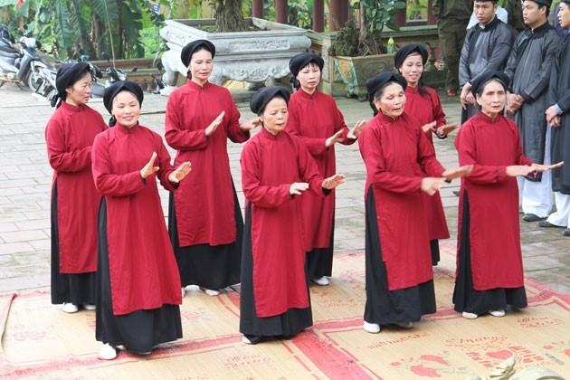 Hát Xoan Phú Thọ chính thức là Di sản văn hóa phi vật thể đại diện của nhân loại - ảnh 2