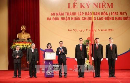 Báo Văn hóa kỷ niệm 60 năm đồng hành phát triển văn hóa Việt Nam - ảnh 1