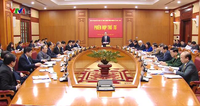 Phiên họp thứ Tư của Ban Chỉ đạo Cải cách tư pháp Trung ương - ảnh 1