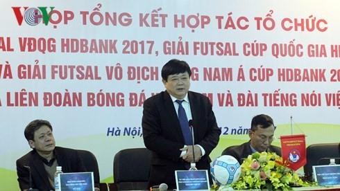 VOV và VFF cam kết chung tay nâng tầm futsal Việt Nam - ảnh 2