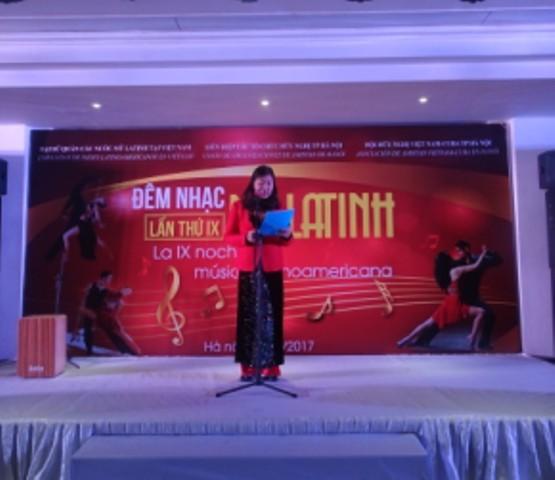 Đêm nhạc ấm áp tình hữu nghị Việt Nam và các nước Mỹ Latinh - ảnh 4