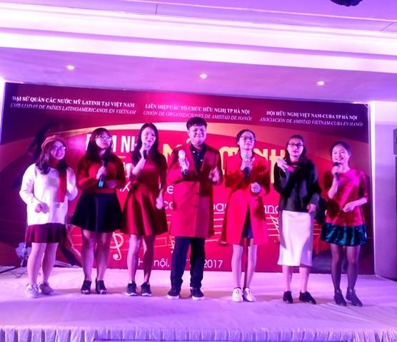 Đêm nhạc ấm áp tình hữu nghị Việt Nam và các nước Mỹ Latinh - ảnh 8