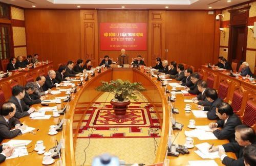 Kỳ họp thứ 4 Hội đồng Lý luận Trung ương - ảnh 1