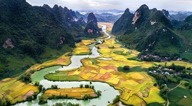 Non Nước Cao Bằng được UNESCO công nhận Công viên địa chất toàn cầu - ảnh 1
