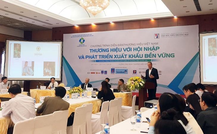 Diễn đàn Thương hiệu Việt Nam năm 2018 - ảnh 1