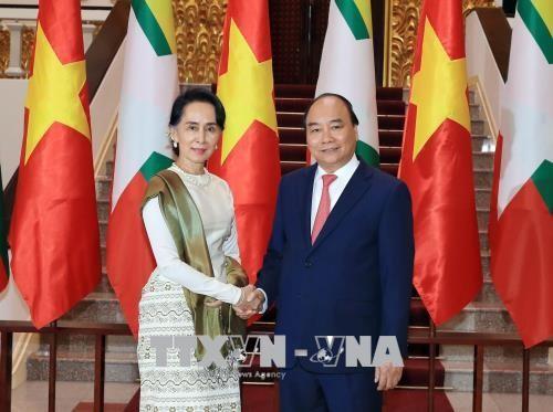 Tuyên bố chung Việt Nam – Myanmar - ảnh 1