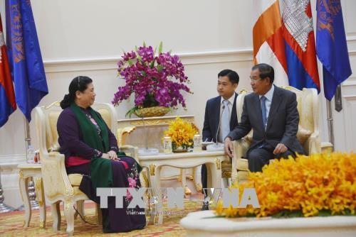 Lãnh đạo Campuchia đánh giá cao quan hệ hợp tác với Việt Nam - ảnh 1