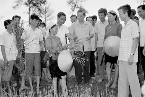 Tổng Bí thư Nguyễn Văn Linh - Tấm gương sáng ngời về đạo đức cách mạng - ảnh 3