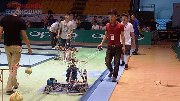 Khai mạc Vòng chung kết Robocon Việt Nam năm 2018  - ảnh 1