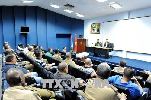 Việt Nam chia sẻ định hướng đổi mới và kinh nghiệm phát triển với Cuba - ảnh 1