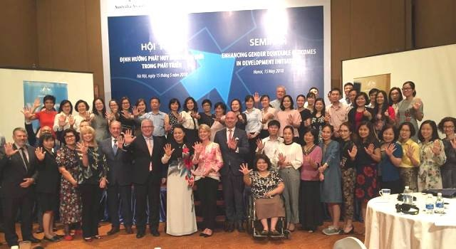 Australia-Việt Nam hợp tác vì bình đẳng giới trong các sáng kiến phát triển - ảnh 1