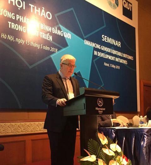 Australia-Việt Nam hợp tác vì bình đẳng giới trong các sáng kiến phát triển - ảnh 2
