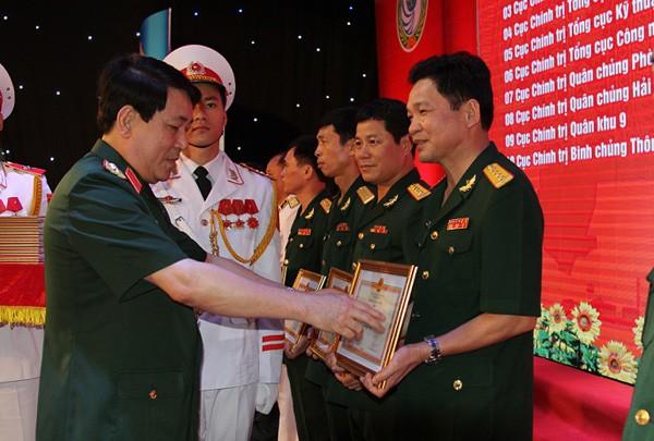 """Trao Giải thưởng """"Tuổi trẻ sáng tạo trong Quân đội"""" lần thứ XVIII - ảnh 1"""