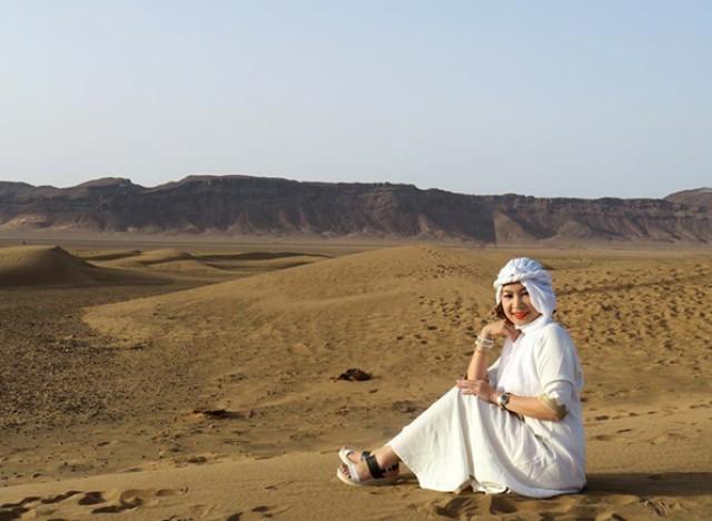"""Trải nghiệm xê dịch với """"Bình minh ở Sahara"""" của Dili - ảnh 1"""