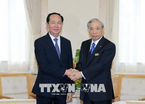 Chủ tịch nước Trần Đại Quang đi thăm tỉnh Gunmar, Nhật Bản - ảnh 1
