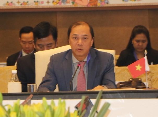 Thứ trưởng Ngoại giao Nguyễn Quốc Dũng tham dự Hội nghị Quan chức cao cấp ASEAN - ảnh 1