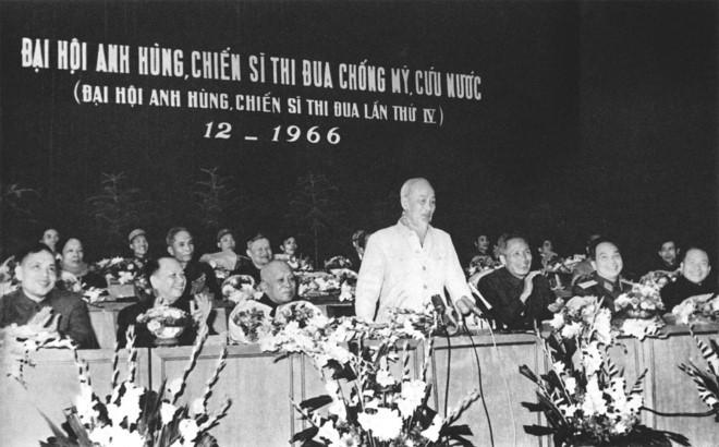 Triển lãm Chủ tịch Hồ Chí Minh với phong trào thi đua yêu nước - ảnh 1