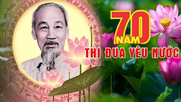 Các địa phương hưởng ứng 70 năm Ngày Chủ tịch Hồ Chí Minh ra lời kêu gọi thi đua ái quốc - ảnh 1