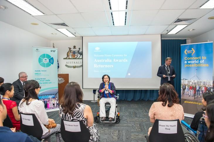 Australia tiếp tục đồng hành với các cựu sinh viên vì sự phát triển bền vững ở Việt Nam - ảnh 2